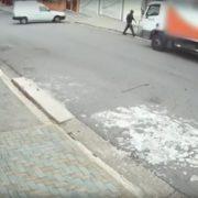 Idoso é atropelado e morto por caminhão em São Bernardo do Campo(SP)