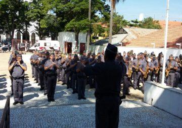 Corpo Musical da PMESP comemora seu 161º aniversário de existência.