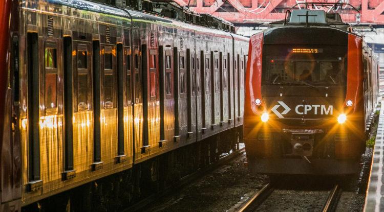 Obras alteram circulação de trens da CPTM