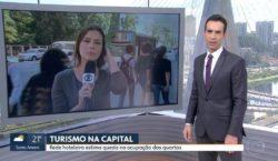 Ao Vivo: O que disse a repórter da Globo ao…
