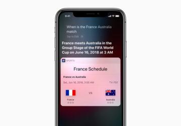 Fãs de futebol podem saber tudo sobre a Copa do Mundo com os aparelhos e serviços Apple