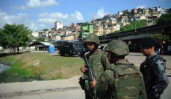 Morre segundo militar do Exército em operação na zona norte…