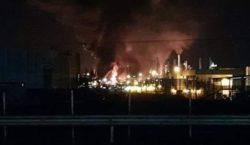 Incêndio atinge refinaria da Petrobras em Paulínia