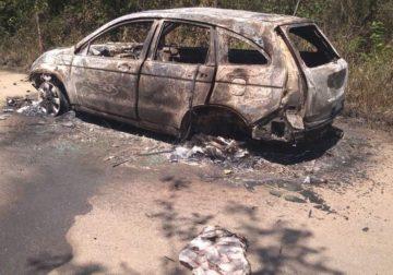 Encontrado carro de PM sequestrado; policial está desaparecido