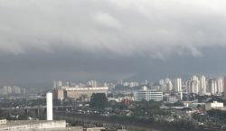 Chuva forte causa alagamento e coloca parte da cidade em…