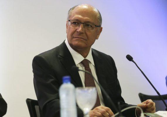 Geraldo Alckmin é ouvido pela Polícia Federal