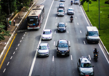 50 km/h: Velocidade em faixa do corredor norte sul é reduzida