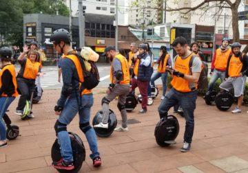 Domingo: Centro recebe 'Circuito de Monociclos' Elétricos