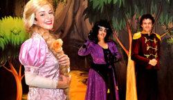 Rapunzel é atração de domingo na zona oeste