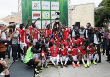 Seleção da Agência da ONU vence Copa dos Refugiados em São Paulo