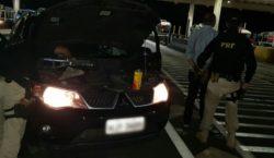 PRF flagra homem de 50 anos com carro roubado e…