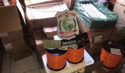 Ceará: 700 quilos de explosivos são apreendidos