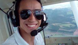 Queda de avião mata co-piloto e fere duas pessoas