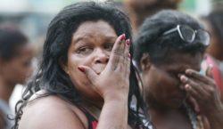 Enterrado corpo de menina morta com tiro de fuzil no…