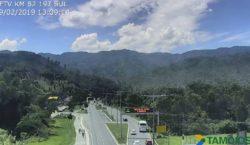 Rodovia Tamoios é liberada após 12 horas de interdição