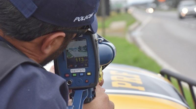 Radares foram usados para fiscalizar motoristas e evitar excesso na velocidade (Agência PRF/Reprodução)