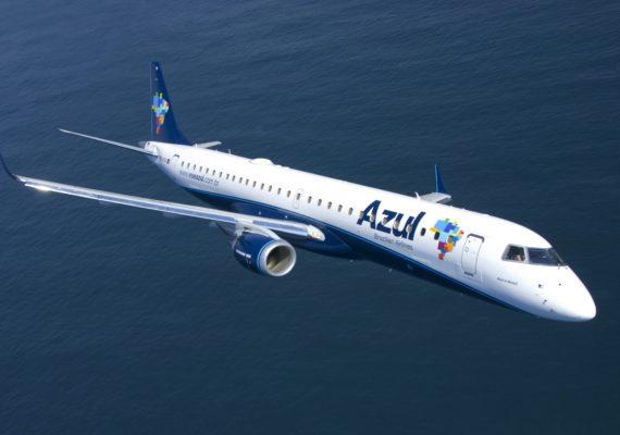Azul vai operar voos no Guarujá