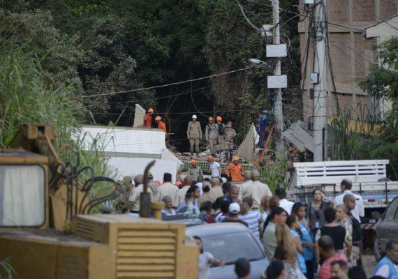 Envolvido no desabamento de prédio no Rio é preso