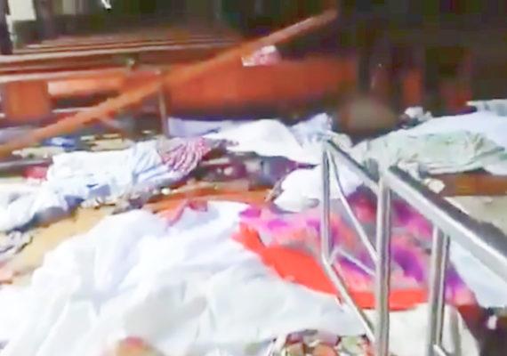 No dia de Páscoa, igrejas e hotéis são atacados no Sri Lank