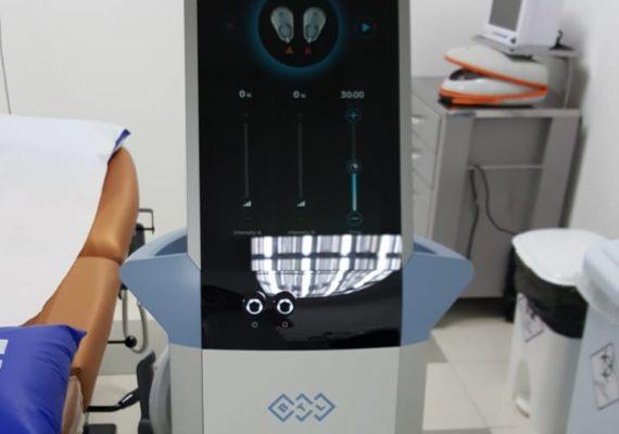 Máquina ajuda a deixar o corpo definido