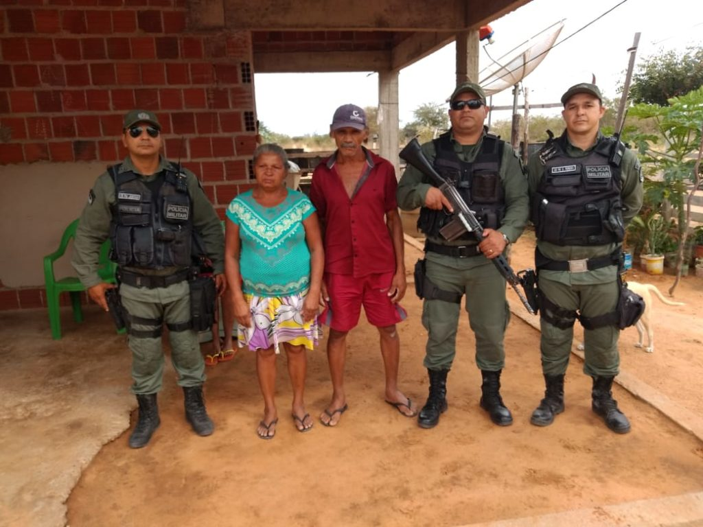 Policiais de Pernambuco pediram ajuda para os colegas de São Paulo para chegar a um final feliz.