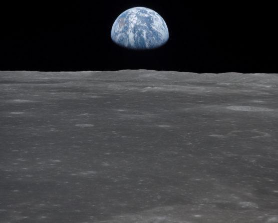 Viagens à Lua lançaram novo olhar sobre o planeta Terra