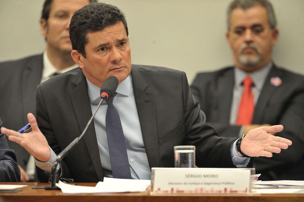 Sergio Moro, ex-ministro da Justiça e Segurança Pública (Fabio Rodrigues Pozzebom/Agência Brasil)