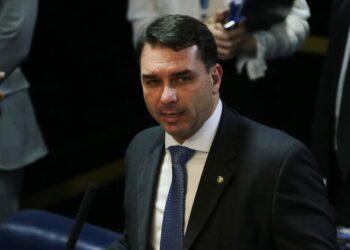 Flávio Bolsonaro, Senador (Fábio Rodrigues Pozzebom/Agência Brasil)