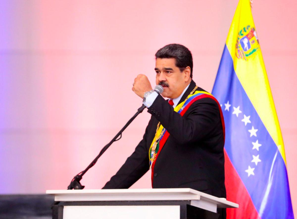 Nicolás Maduro, presidente da Venezuela (Twitter/Reprodução)