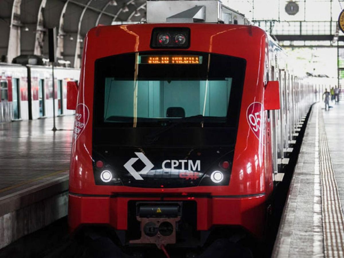 Trem da CPTM (Governo do Estado de SP)