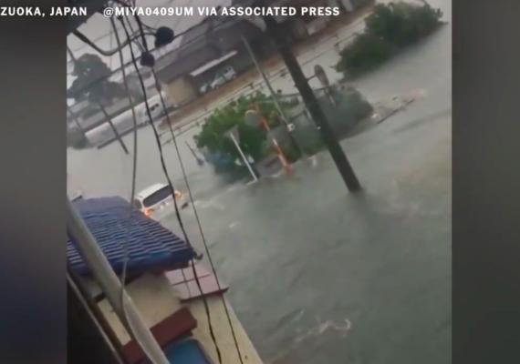 Tufão Hagibis provoca destruição e mortes no Japão