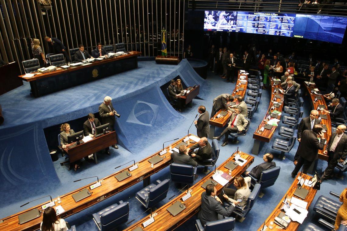 Plenário do Senado (Fabio Rodrigues Pozzebom/Agência Brasil)