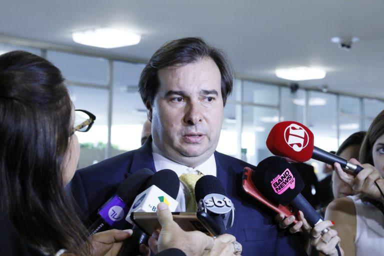 Rodrigo Maia, presidente da Câmara dos Deputados (Luis Miranda/Câmara dos Deputados)