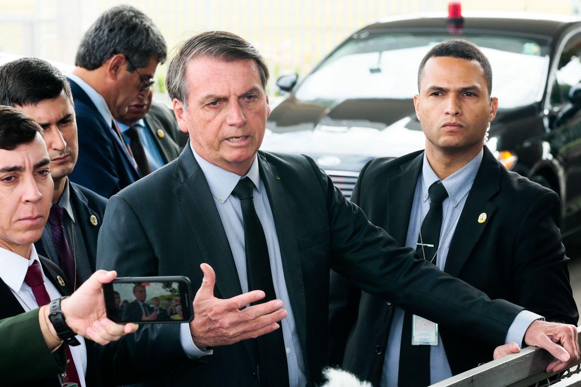 Presidente, Jair Bolsonaro (Antonio Cruz/Agência Brasil)