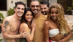 Marcelo Serrado grava em São Paulo 'Dois Mais Dois'