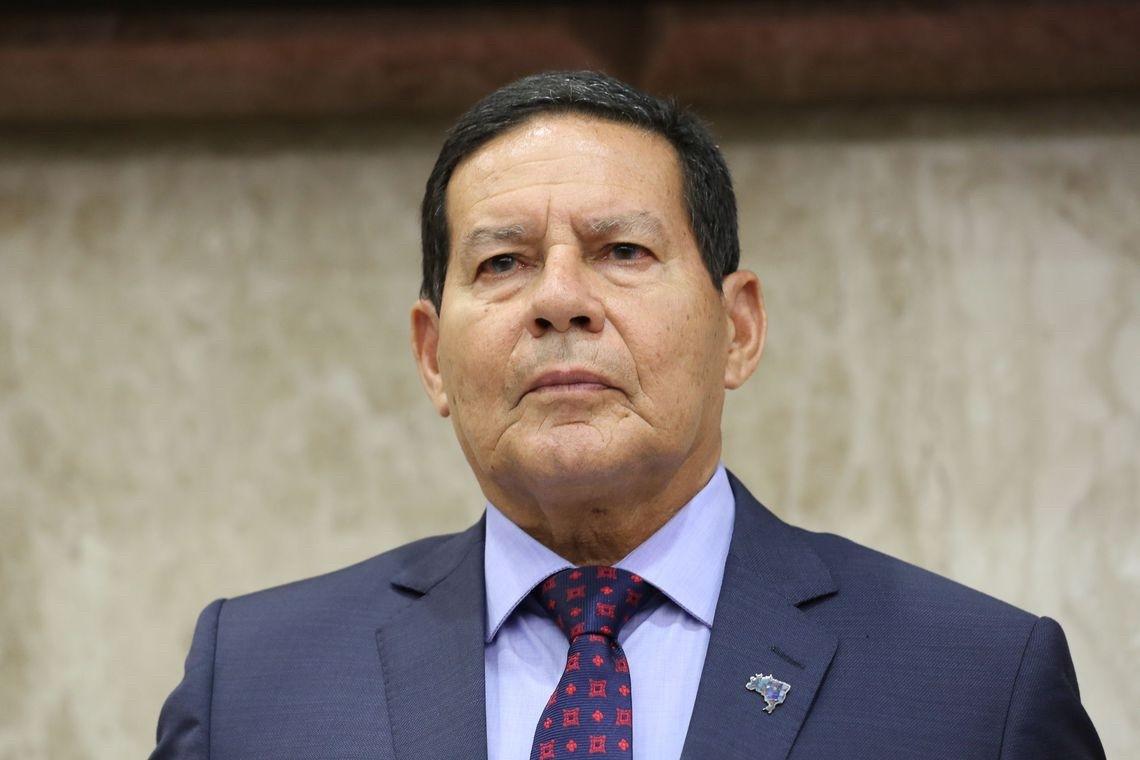 Hamilton Mourão, Vice-presidente da República (Arquivo)