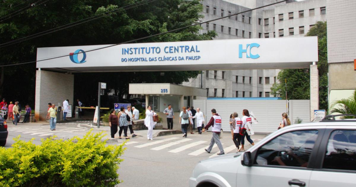 Hospital das Clínicas, em São Paulo (Marcos Santos/USP Imagens)