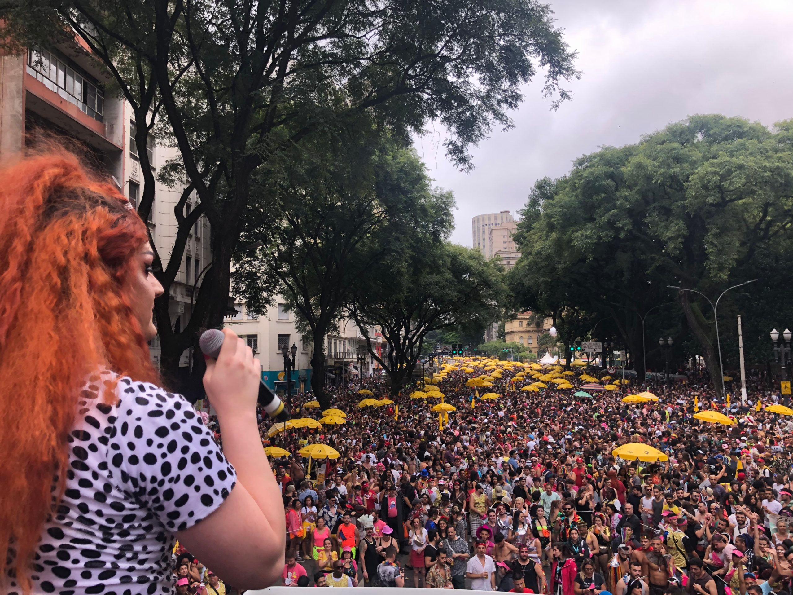 Bloco Minhoqueens, em São Paulo (Edson Lopes Jr./Prefeitura de SP/Fotos Públicas)