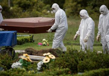 Brasil tem 1001 mortes em 24 horas