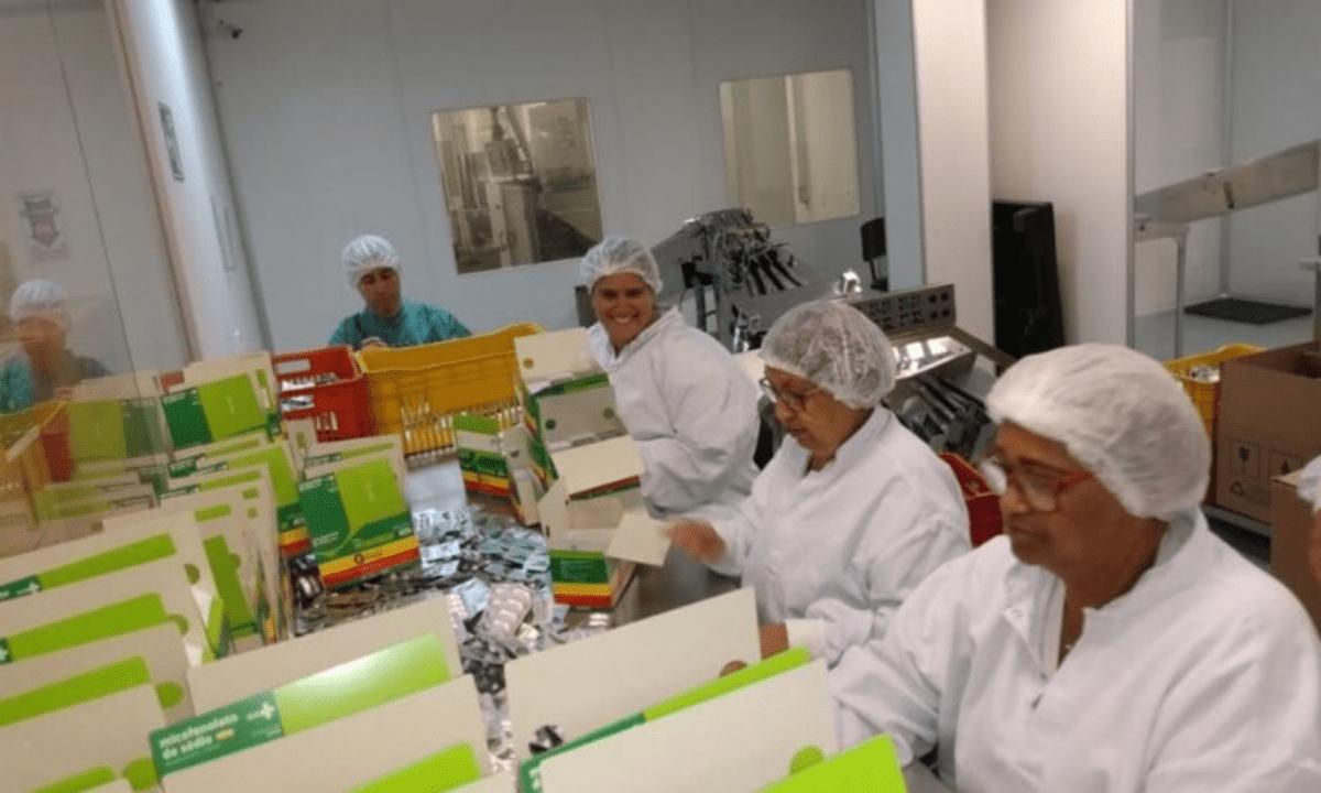 Laboratório Químico do Exército (Min. da Defesa/Reprodução)