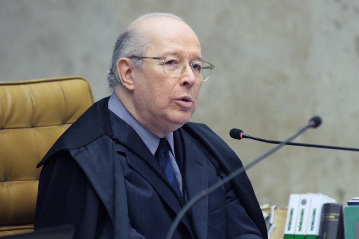 Celso de Mello, ministro do STF (Carlos Moura/SCO/STF)