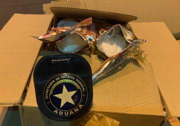 Cocaína é encontrada em carga de coco ralado