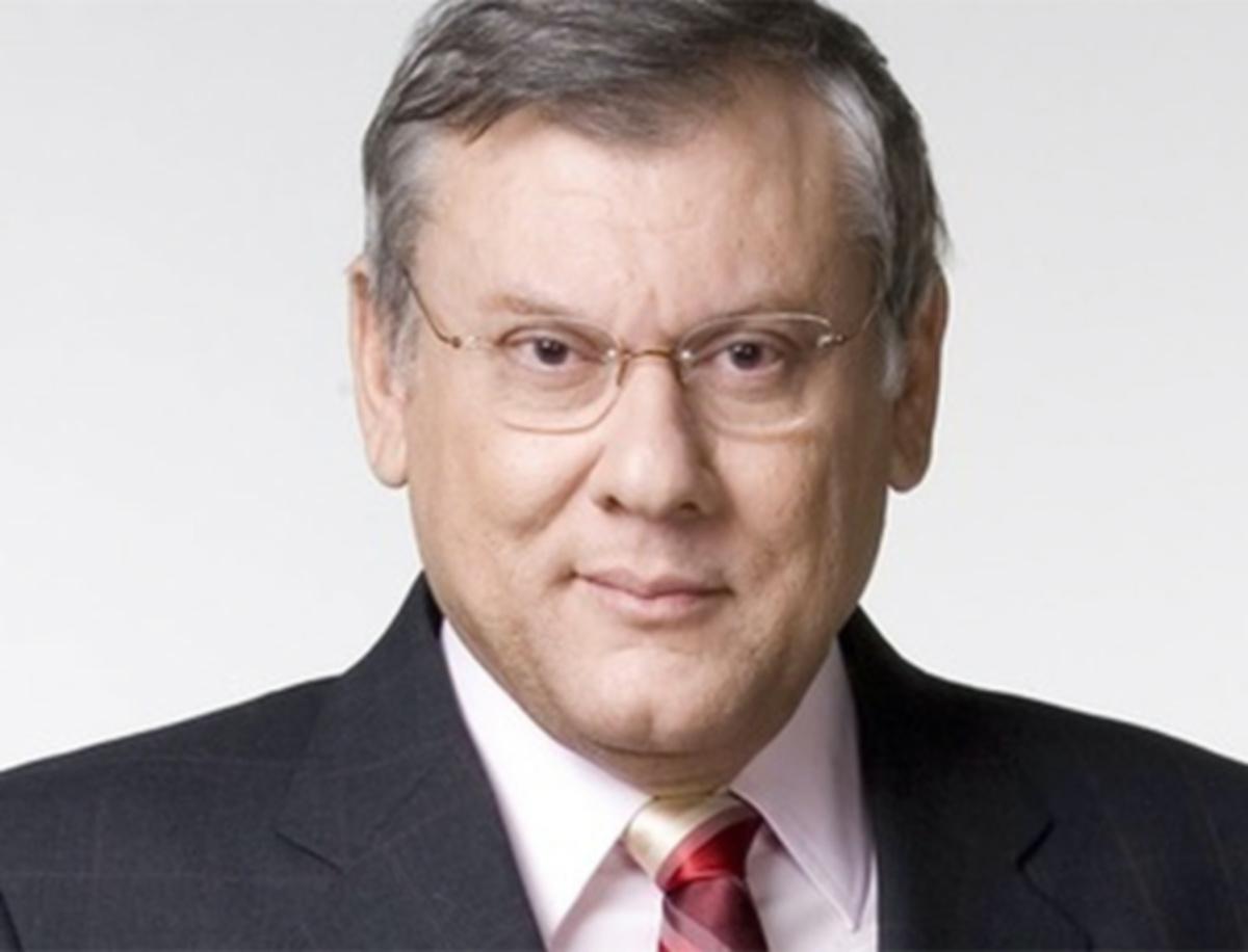 Milton Neves, apresentador do Terceiro Tempo, da Band (Reprodução)