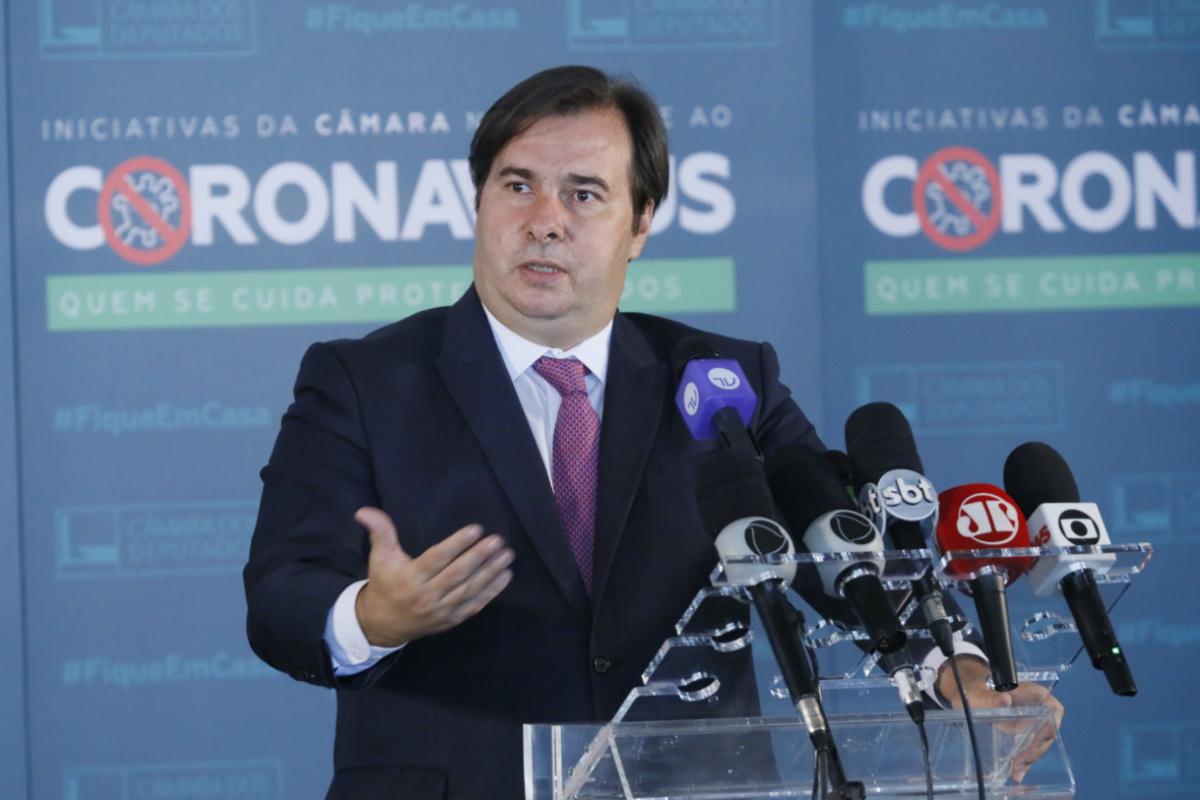 Rodrigo Maia, presidente da Câmara (Maryanna Oliveira/Câmara dos Deputados)