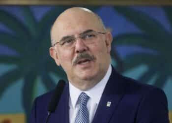 Milton Ribeiro, ministro da Educação (Isac Nóbrega/PR)