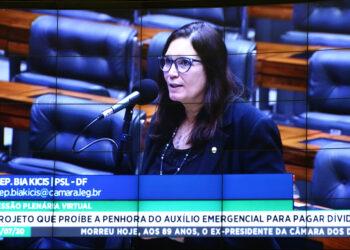 Bia Kicis, deputada federal (Maryanna Oliveira/Câmara dos Deputados)