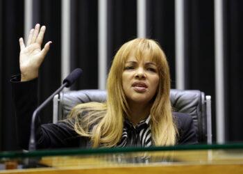 Flordelis, deputada federal (PSD-RJ) (Michel Jesus/Câmara dos Deputados)
