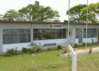 Sede da Ceagesp em Tatuí, interior de São Paulo (TV TEM/Reprodução)