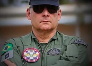 Renato de Oliveira Souza, piloto da Força Nacional (Redes sociais/Reprodução)