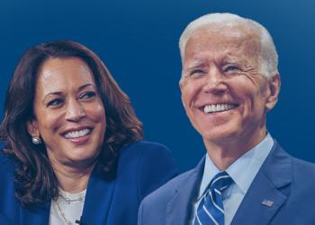 Joe Biden com a vice Kamala Harris (Fotos Públicas/Reprodução)